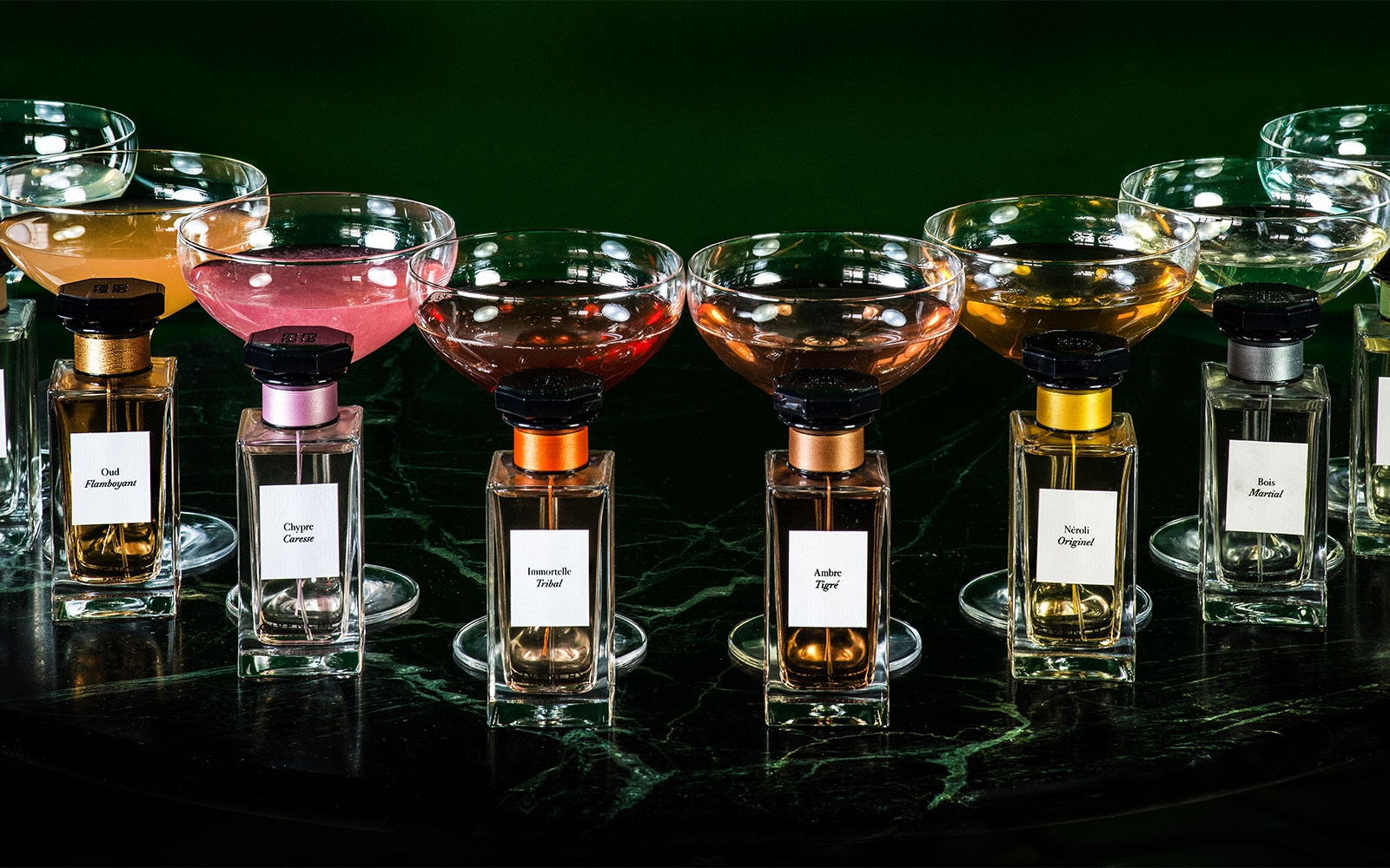 Hotel Cafe Royal Debuts Perfume Inspired Cocktails