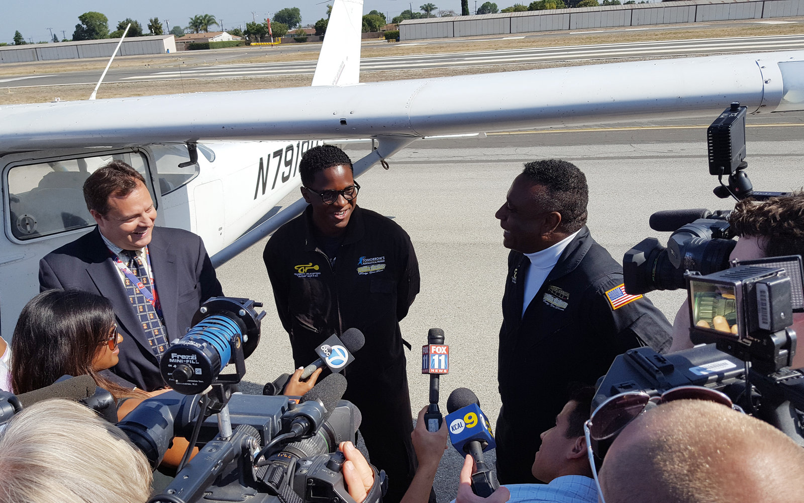 16-Year-Old Becomes Youngest Black Pilot to Cross the Continental U.S.