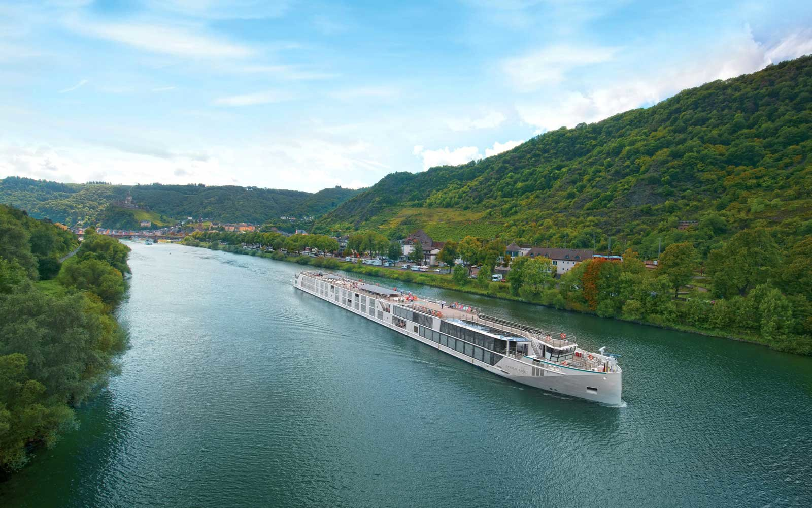 Crystal Cruises Ravel ship