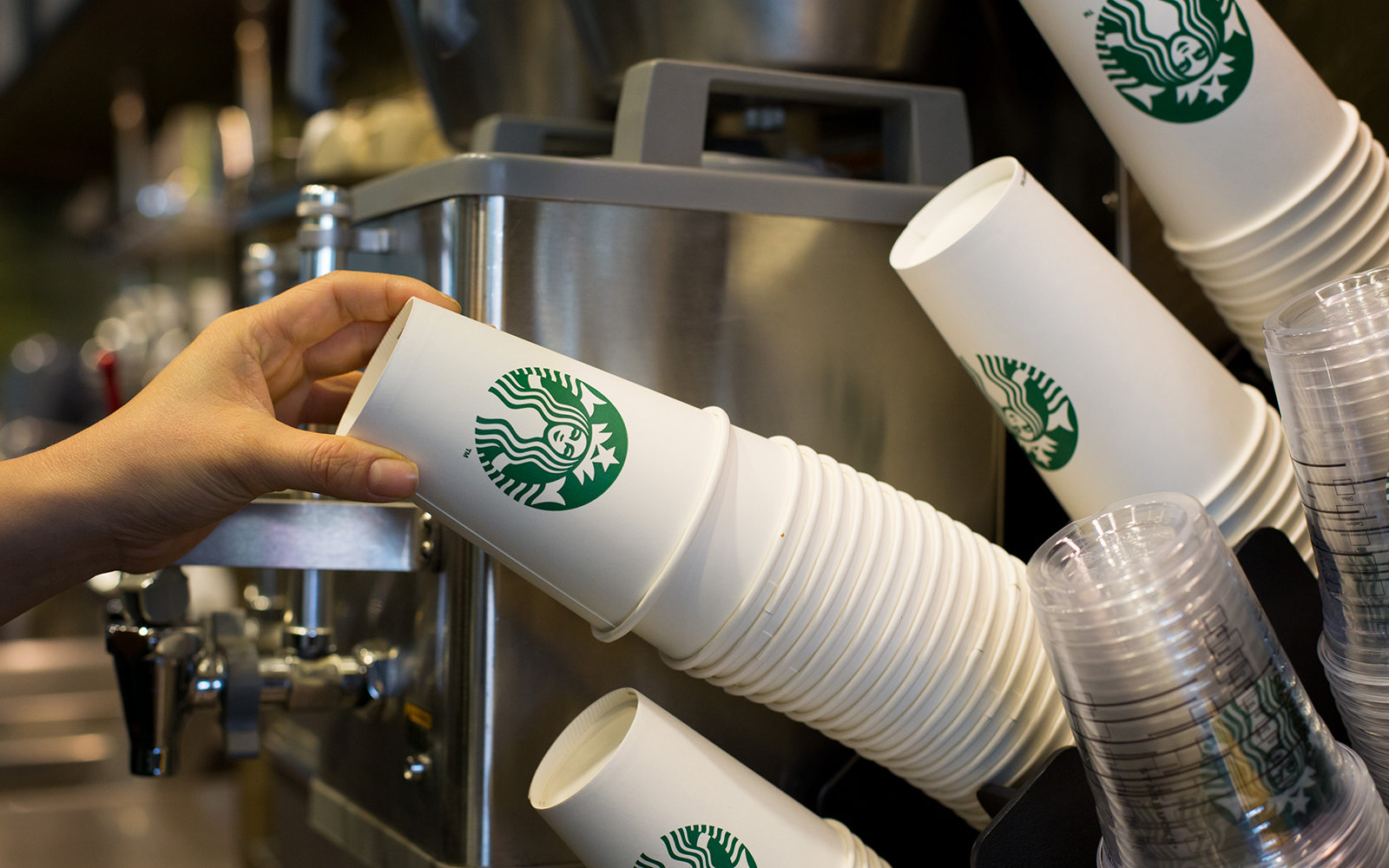 This is the real reason why Starbucks uses Tall, Grande and Venti