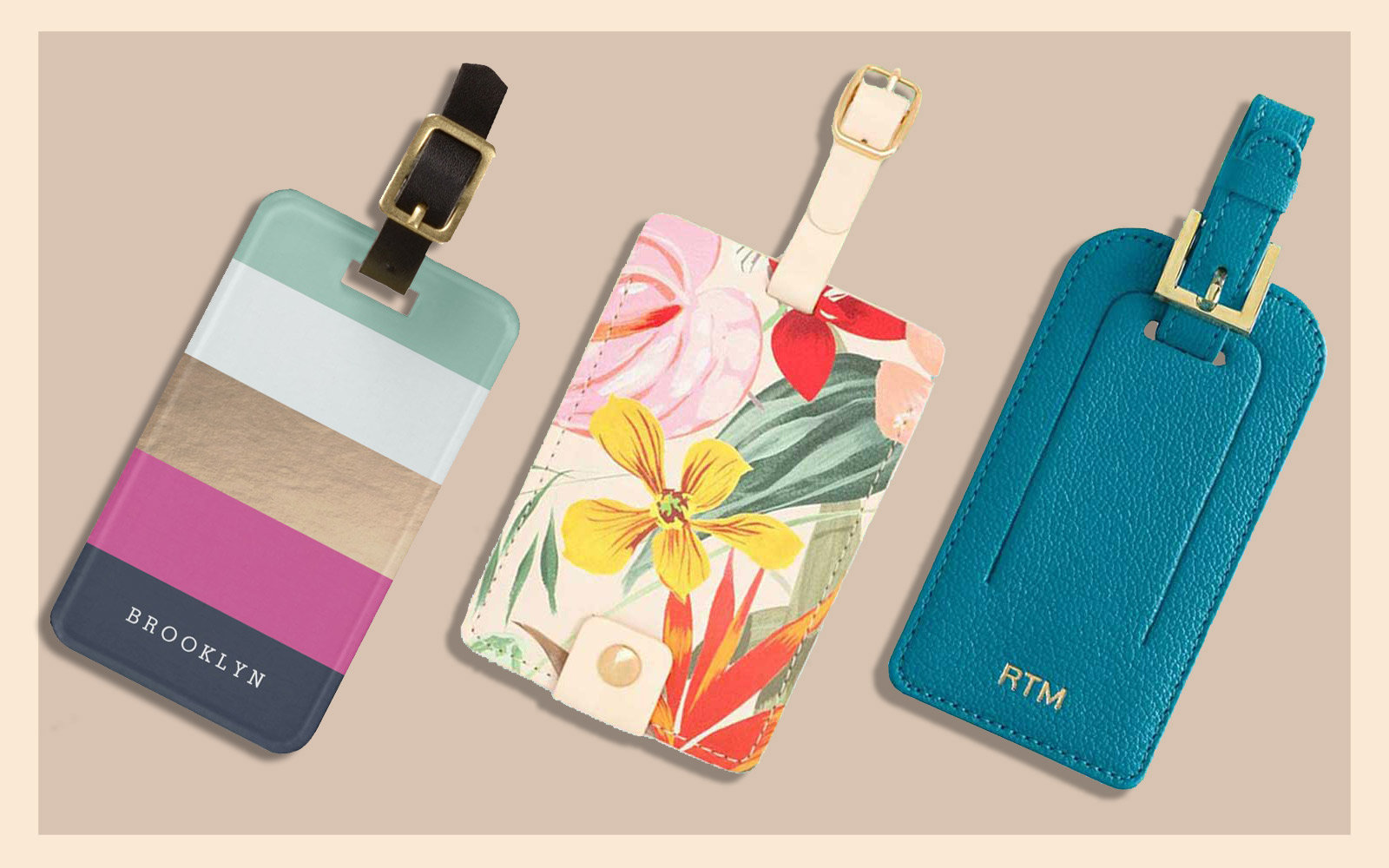 The Best Luggage Tags To Help You Spot Your Suitcase Travel Leisure