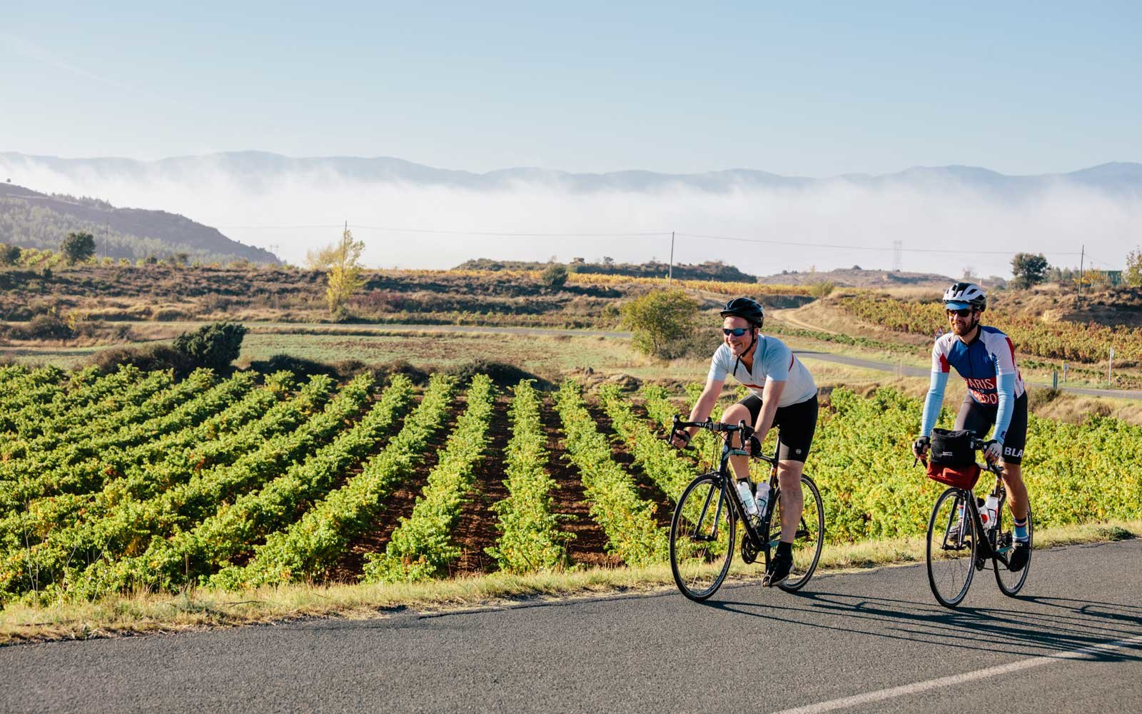 Cycling trip through Rioja, Spain