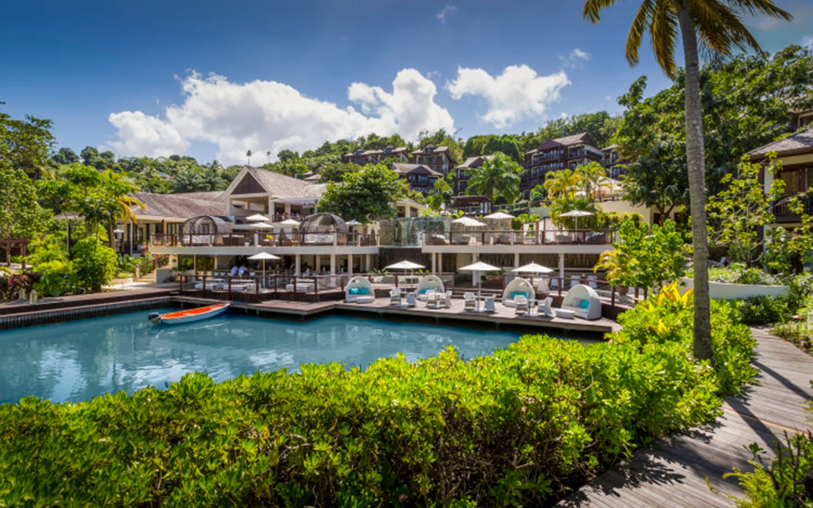 Capella Marigot Bay Resort And Marina Beach