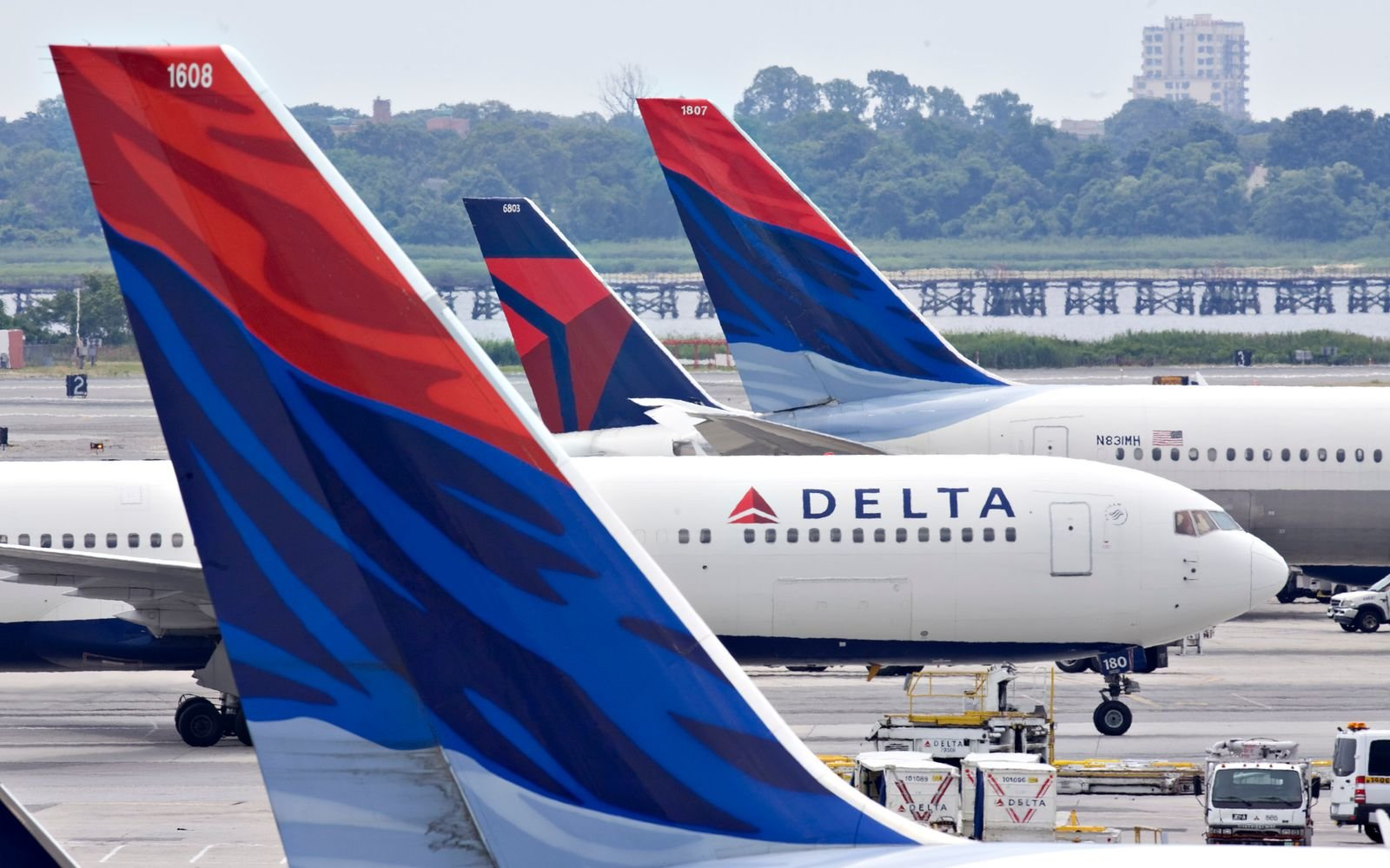 Delta Airlines in Portland