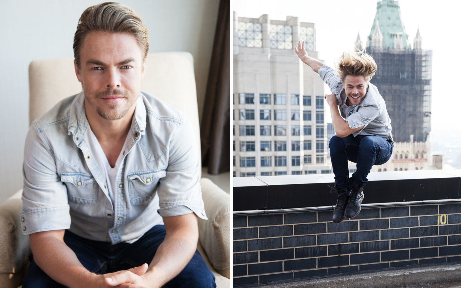 These are the Pants Derek Hough Swears by for Travel