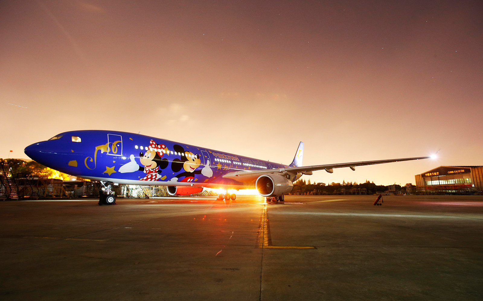 There S A New Disney Themed Airplane Travel Leisure