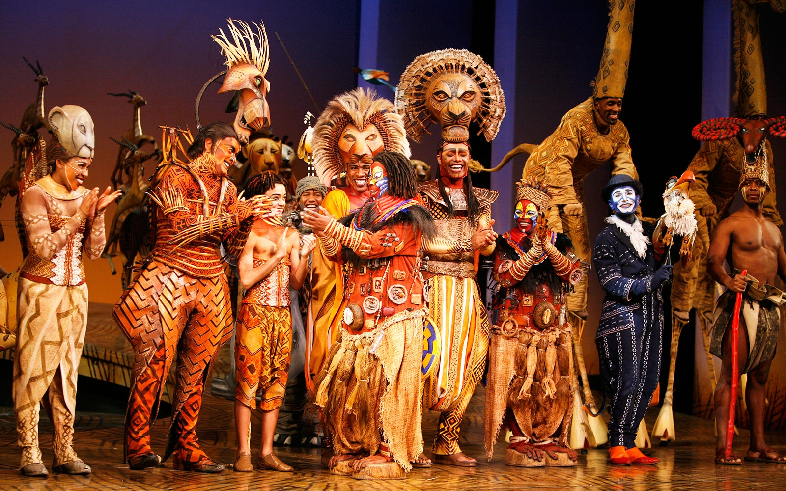 watch the broadway casts of the lion king and aladdin have
