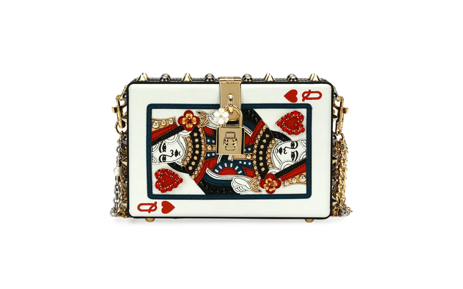 Dolce & Gabbana Queen of Hearts Clutch