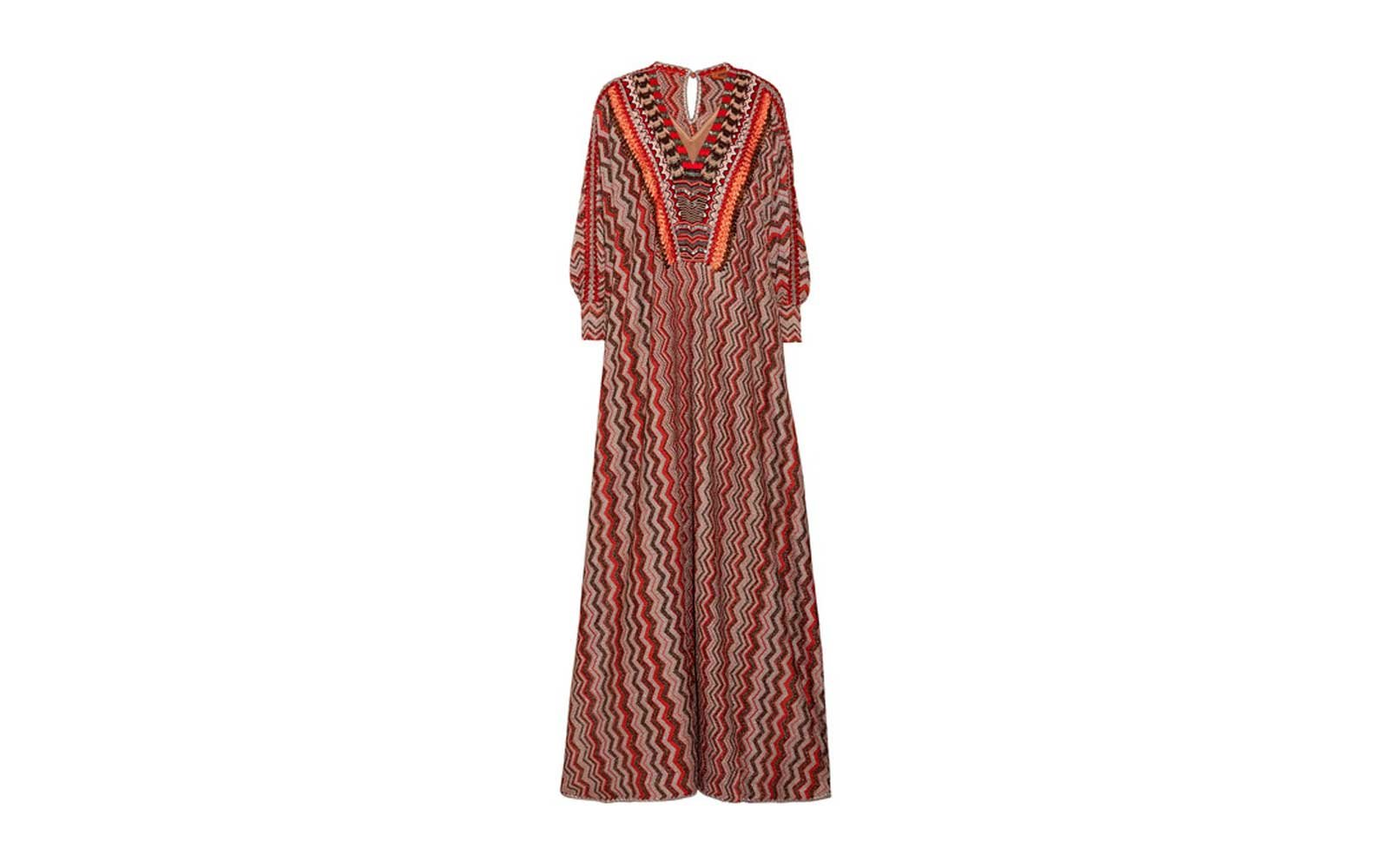 Dubai, United Arab Emirates: Missoni Kaftan