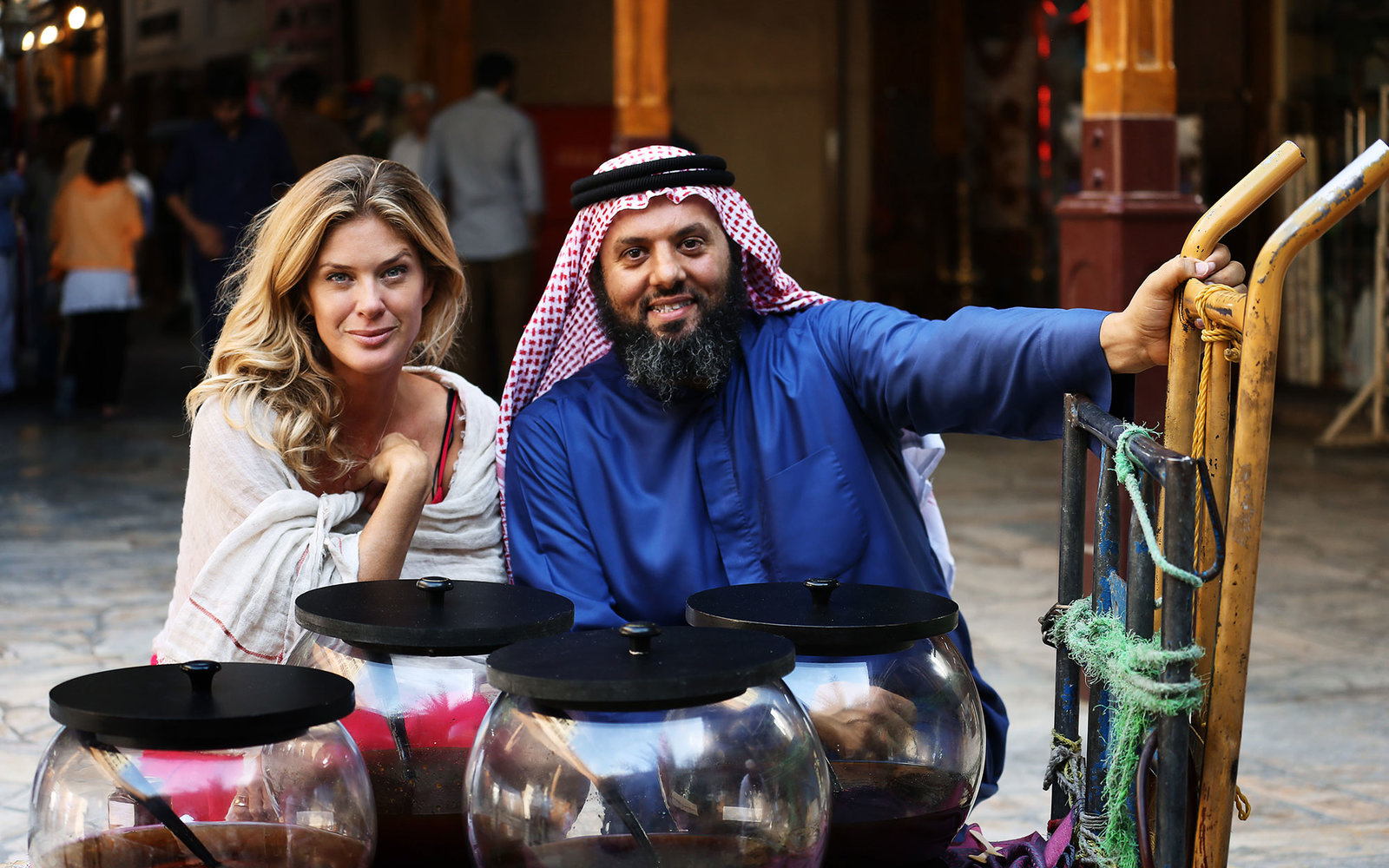 rachel hunter's tour of beauty in dubai