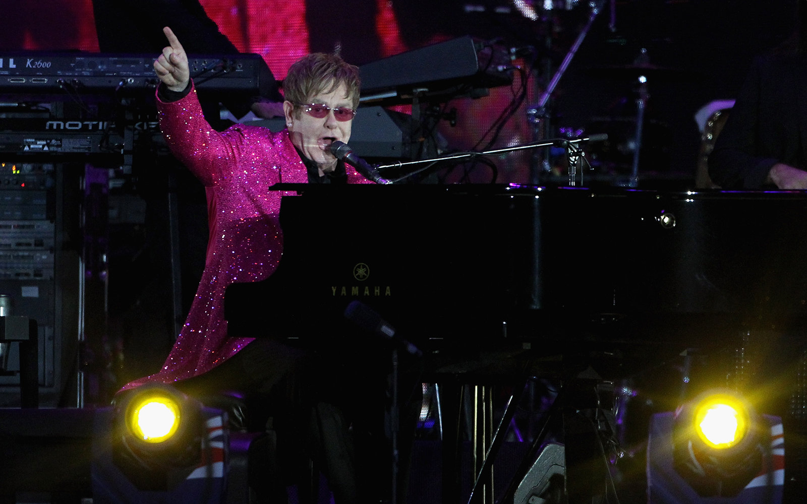 !! @eltonofficial will perform at the ruins of Pompeii this summer:
