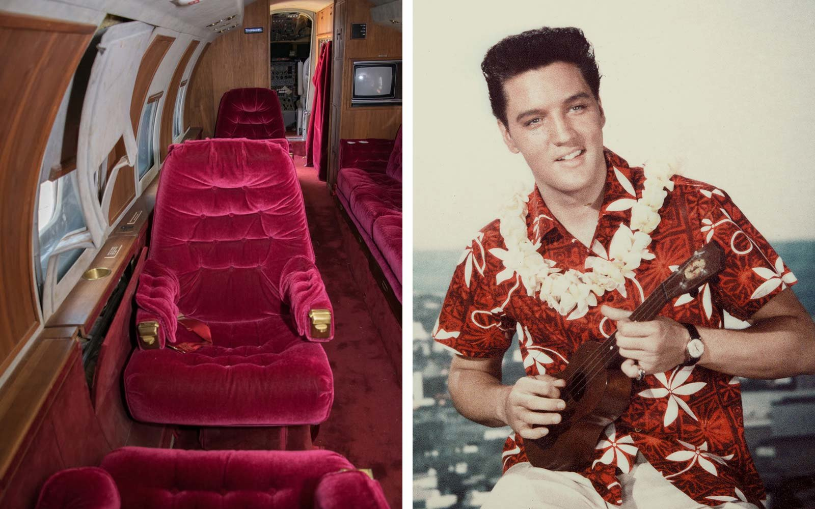 Elvis Private Jet Is Up For Auction And It Comes With