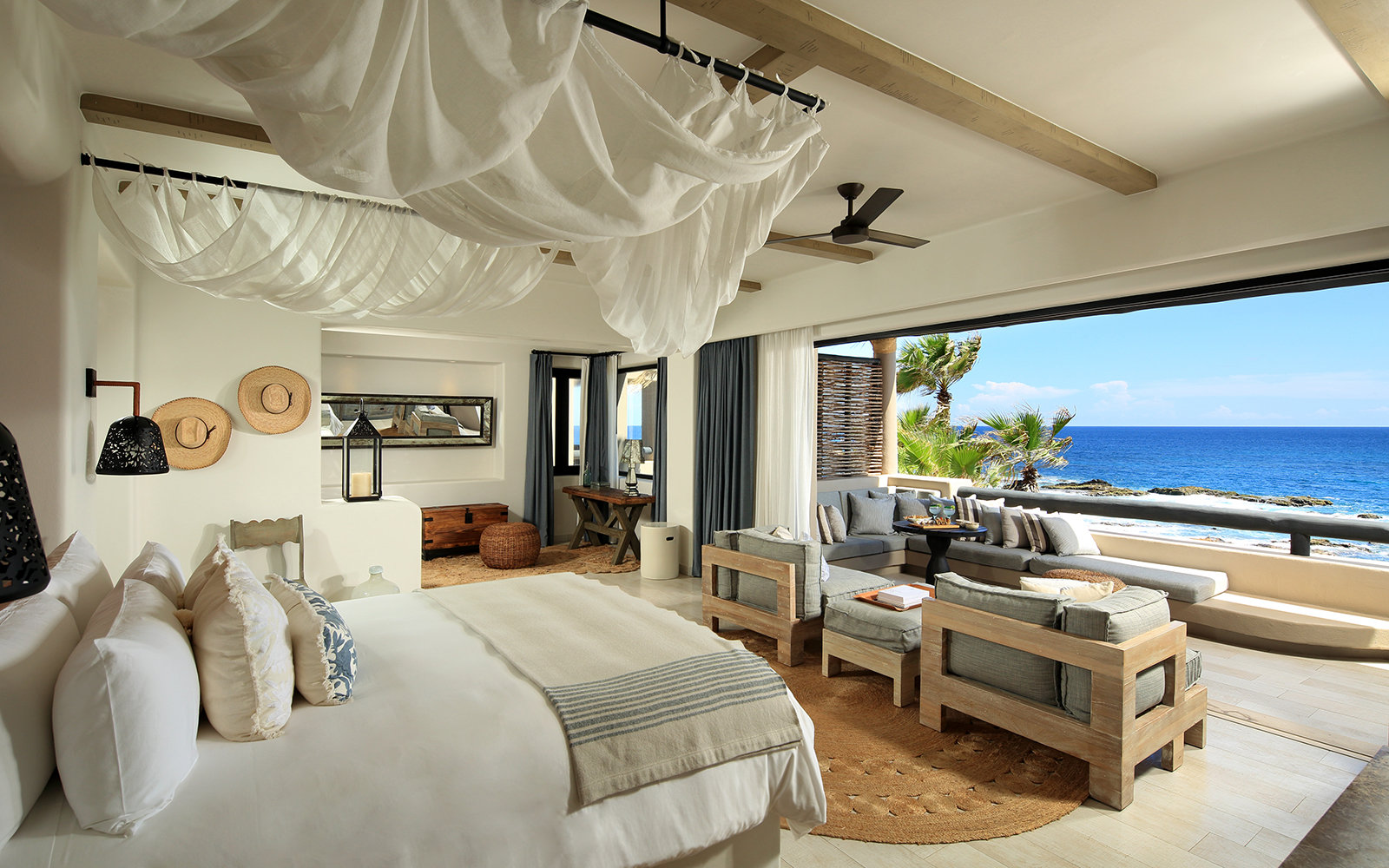 guest room at Esperanza Resort, Los Cabos