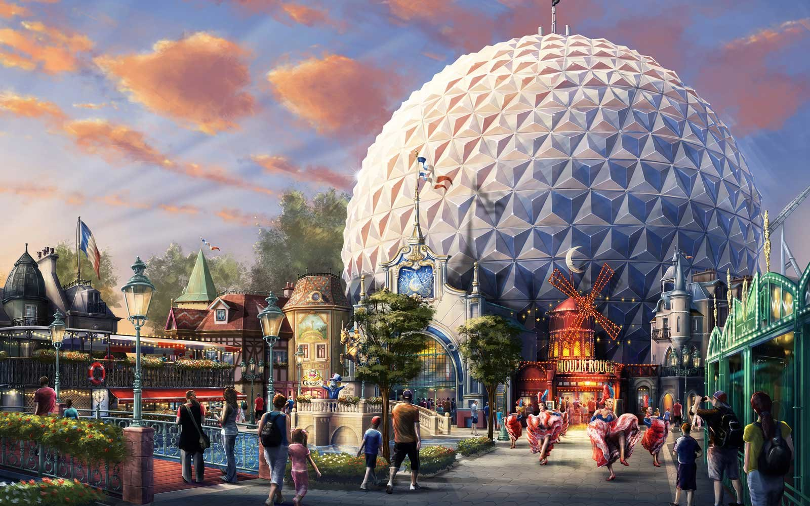 Eurosat Ride at Europa Park, in Germany, will receive an update for 2018