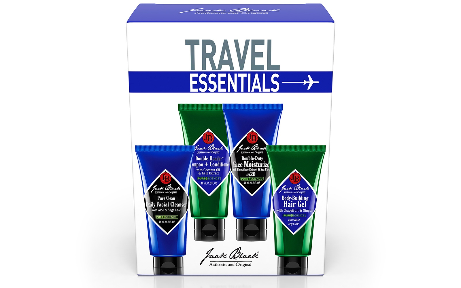 Jack Black Travel Set