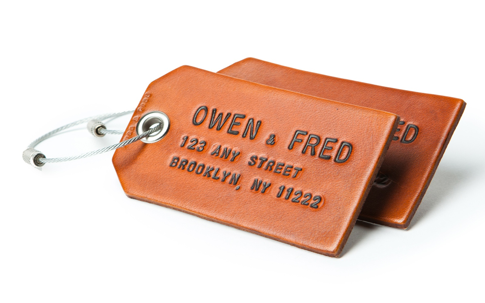 Owen & Fred Luggage Tags