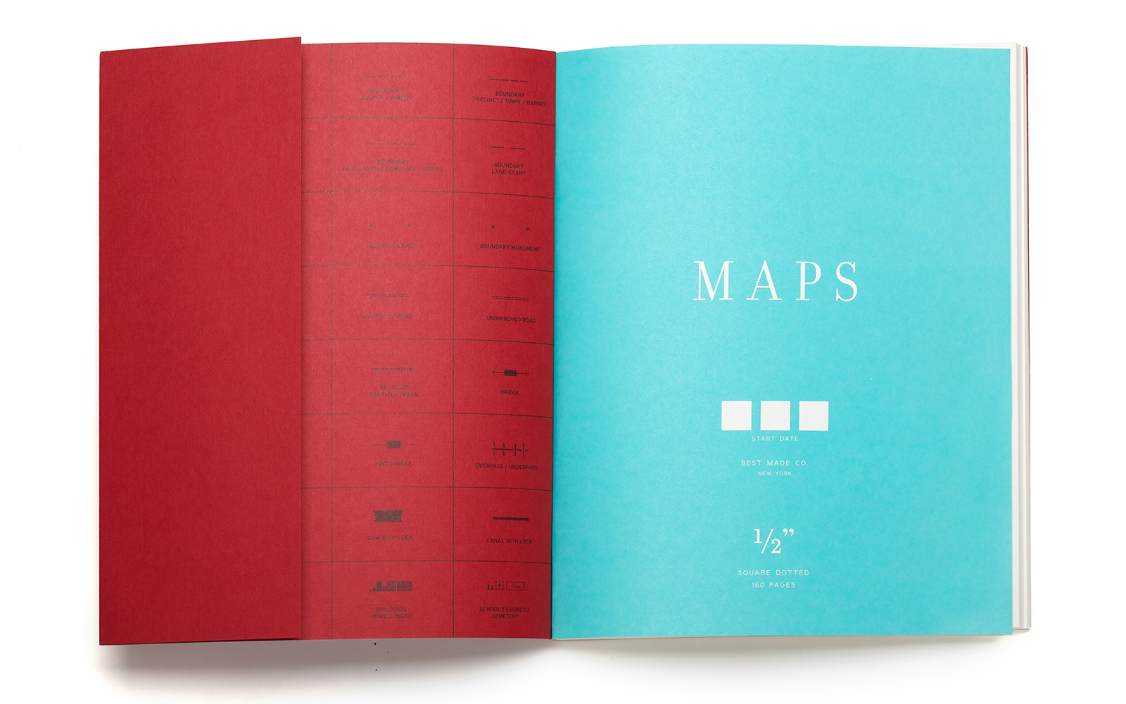 Best Made Company Map Notebook