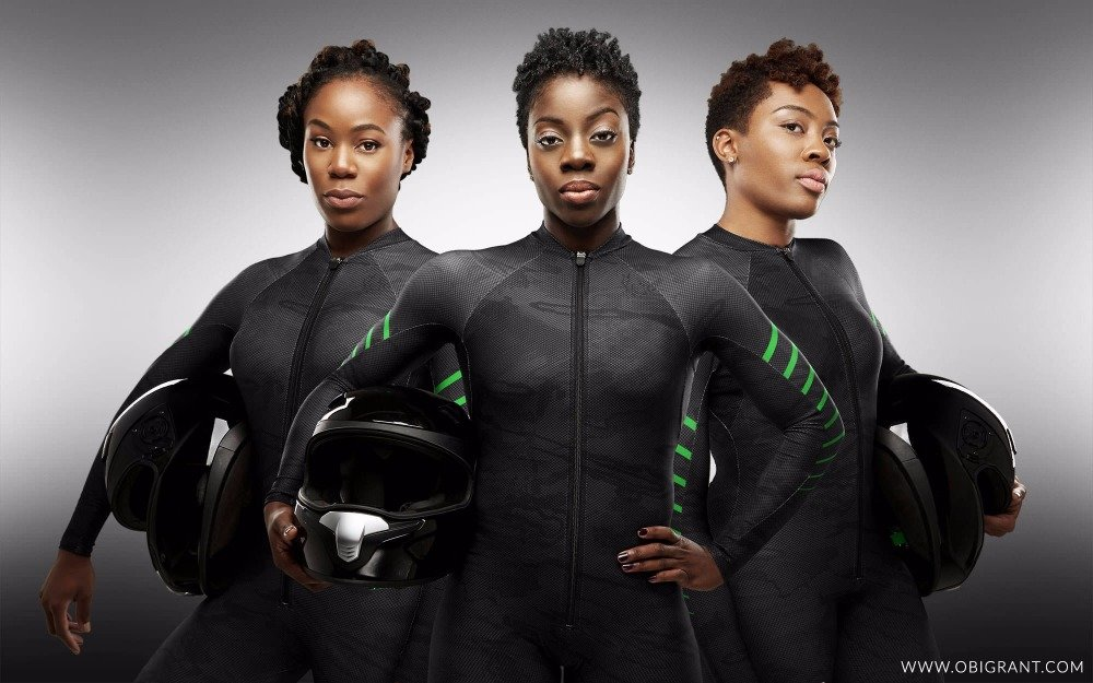 Nigeria's bobsled team.