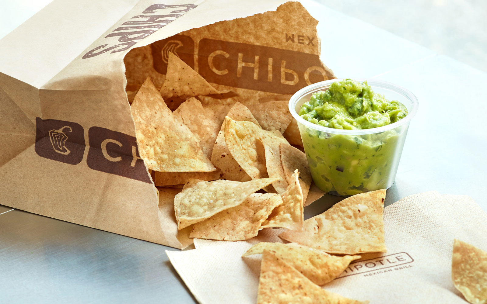 Chipotle is giving away free chips and guacamole this week