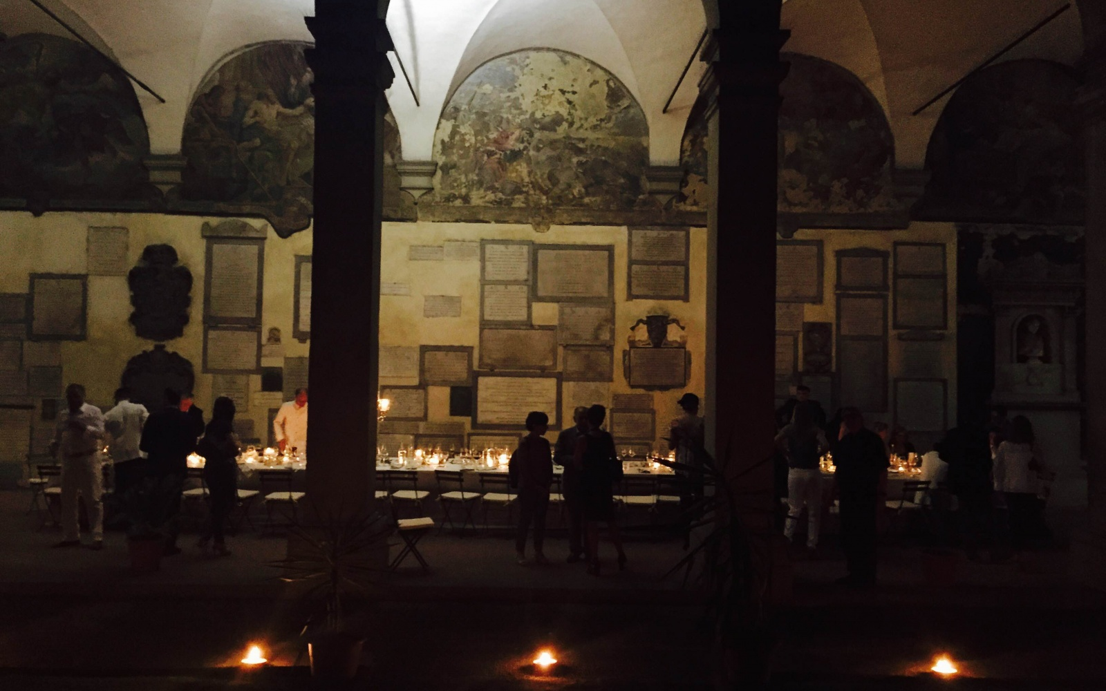 Florence Celebrates its Own 'Last Supper' Frescoes with Sumptuous Pop-Up Dinner Series