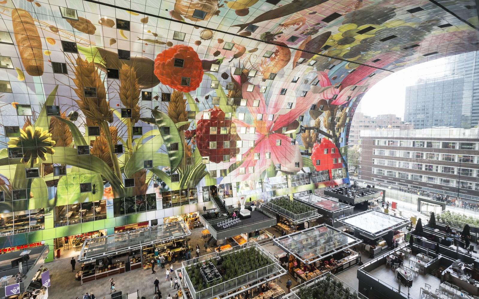 best new food halls in the world travel leisure