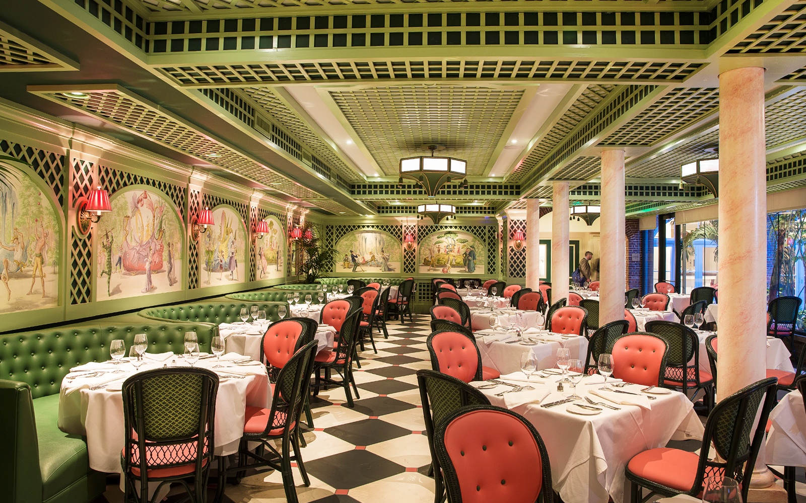 Brennan's Restaurant in New Orleans, Louisiana