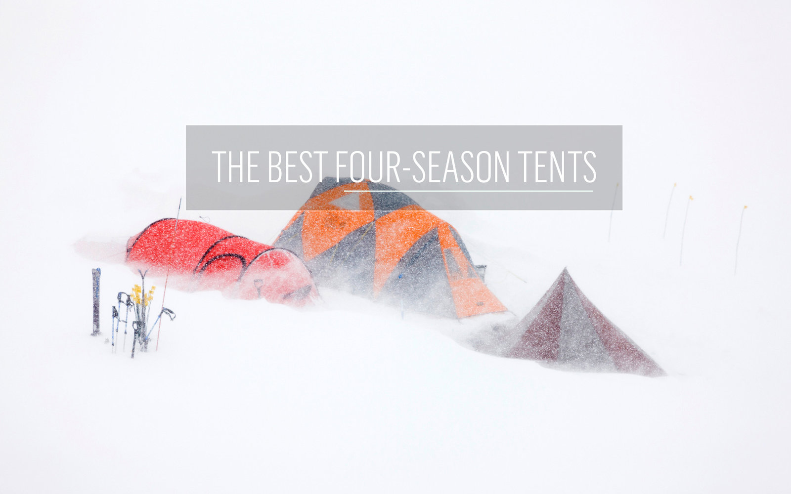 Four Seasons C&ing Tent  sc 1 st  Travel + Leisure & Best Camping Tents for Families Hikers and More | Travel + Leisure