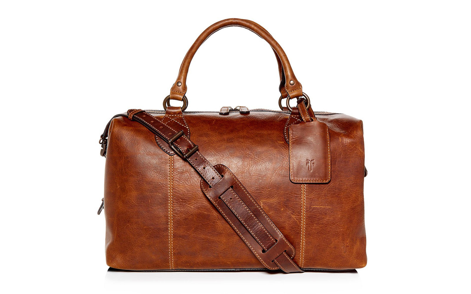 53d269c2c Frye Logan Leather Overnight Bag. Frye Duffel Bag for Travel