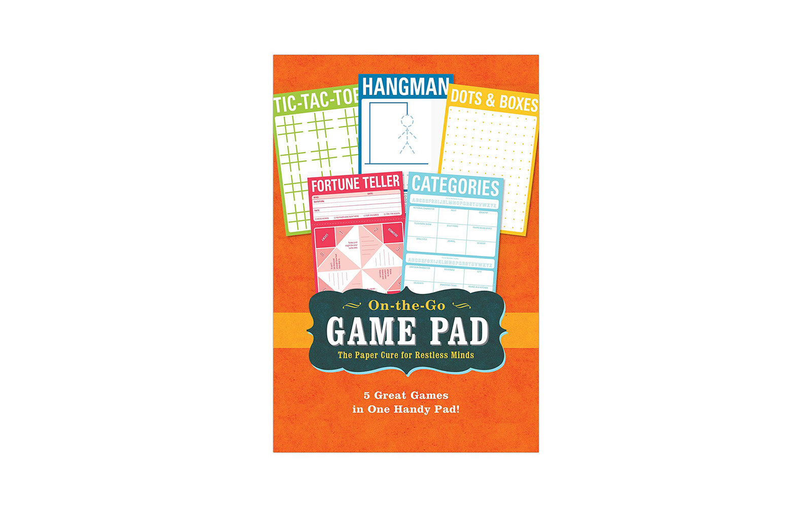 On the Go Game Pad Gift Guide Under $25