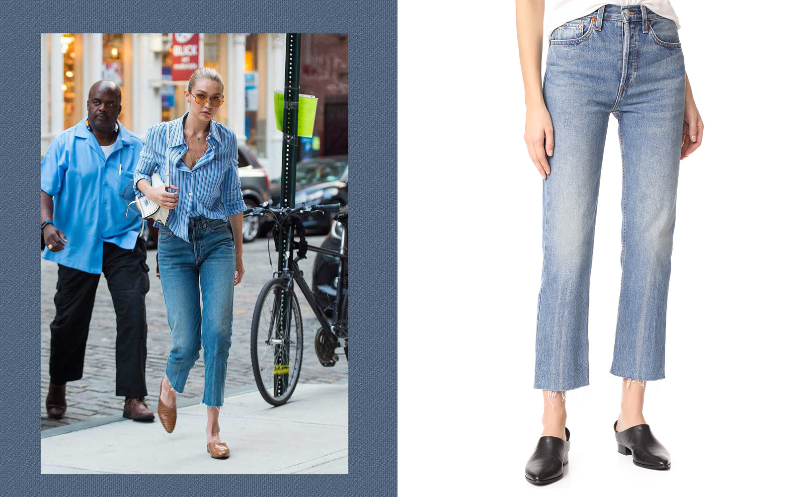 8 Celebrity-Approved Ways to Take Your Jeans on a Date images