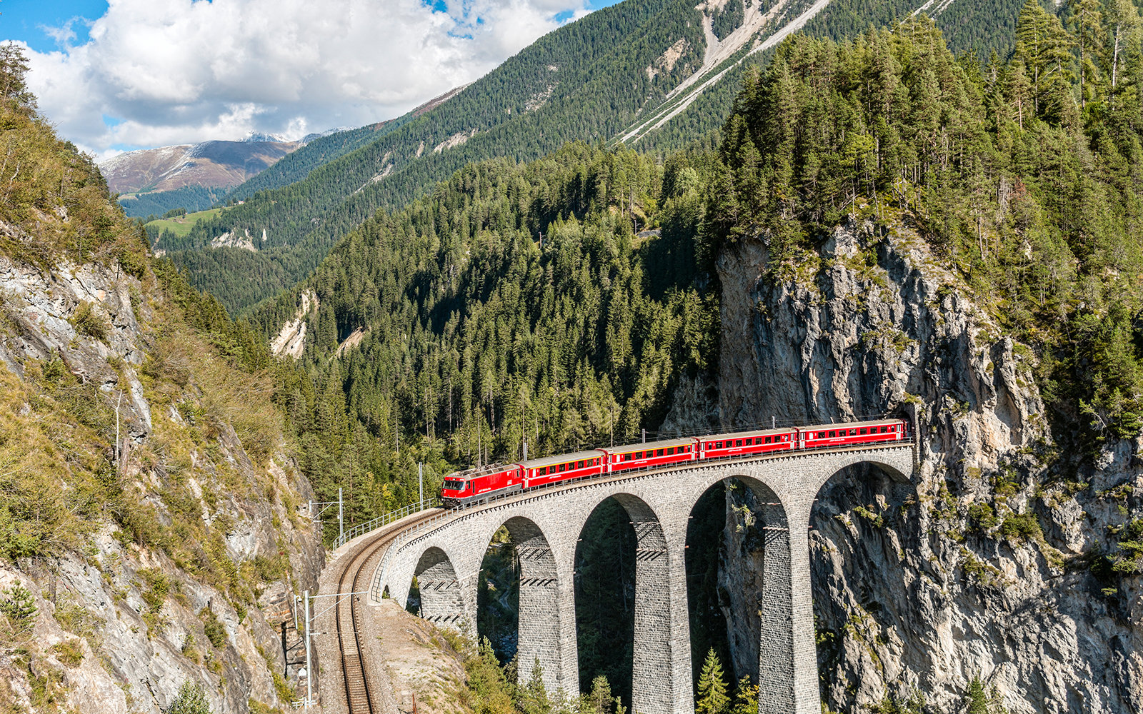 Switzerland s best train trips travel leisure for Best train vacations in the world