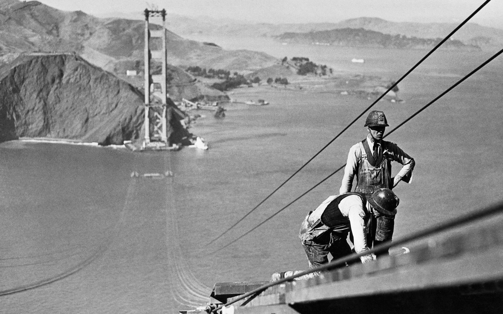 83 Years Ago Today Construction On The Golden Gate Bridge