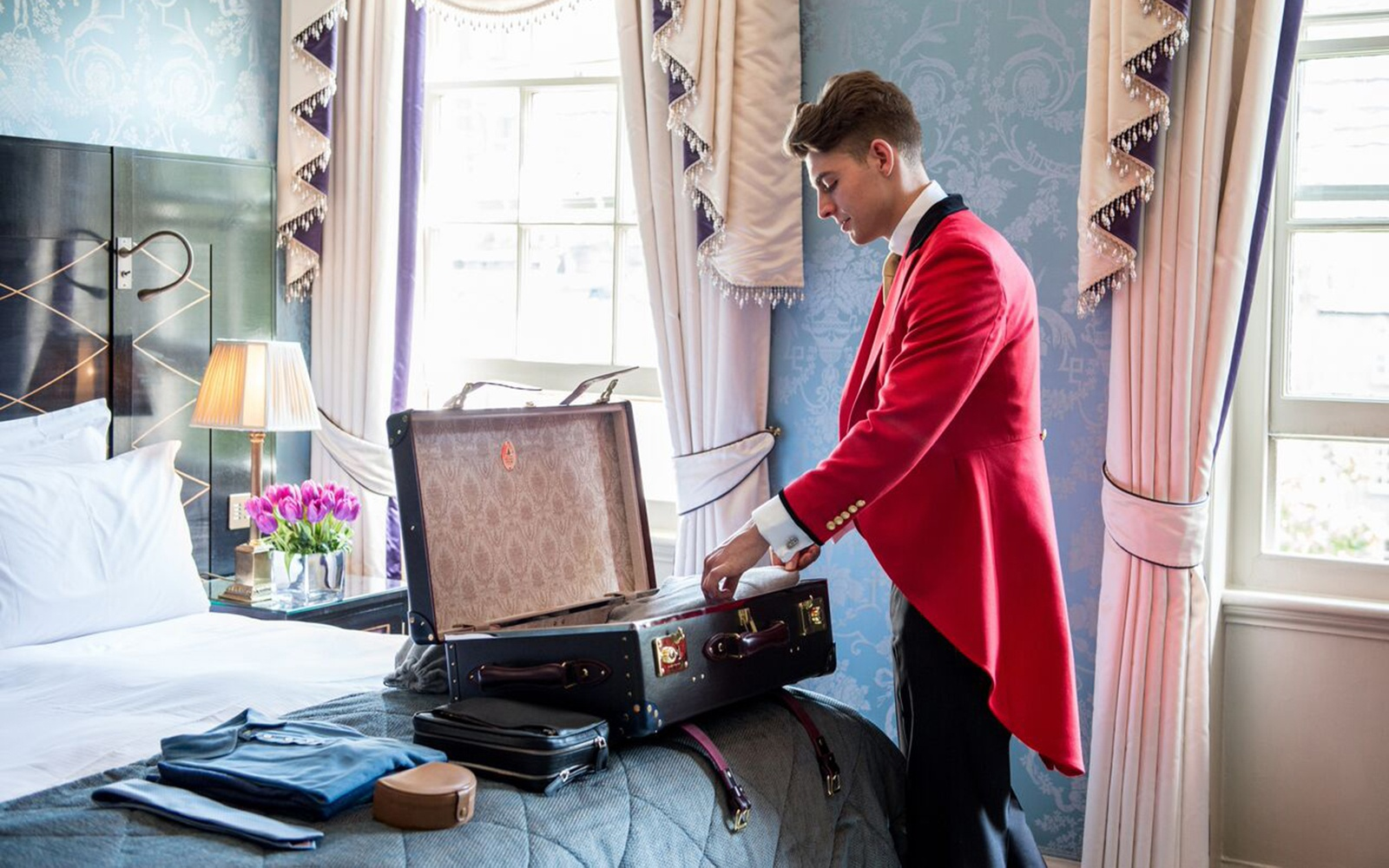 Eight Outlandish Things The Goring Hotel S New Footmen Will Do For Guests Travel Leisure