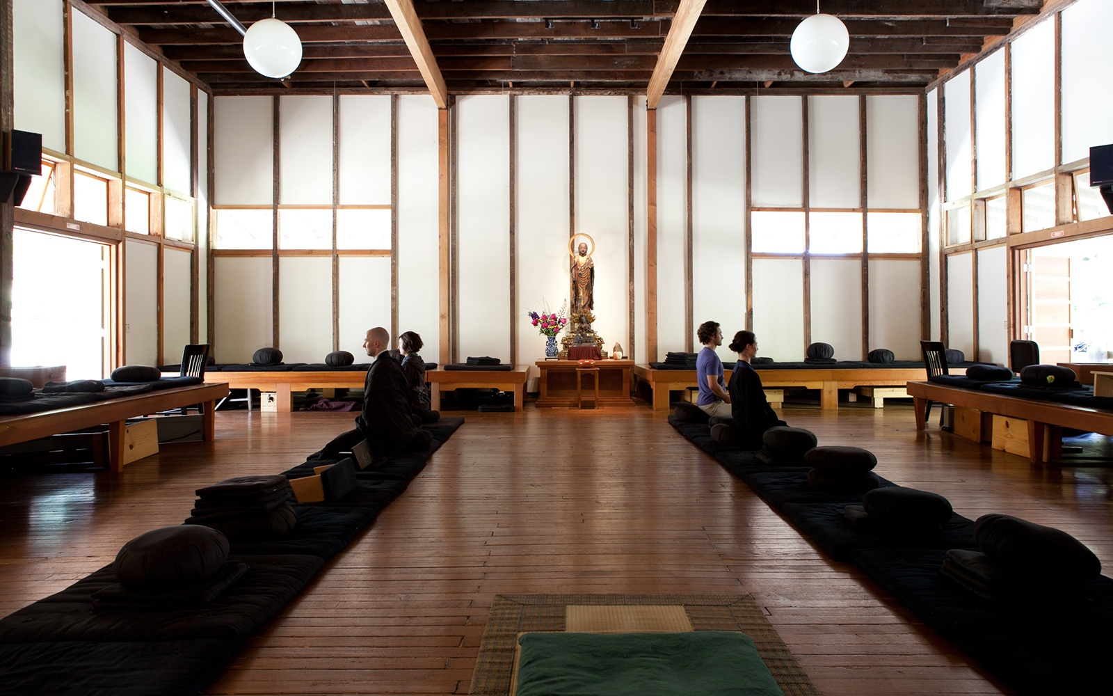 Green Gulch Farm Zen Center in Muir Beach, California