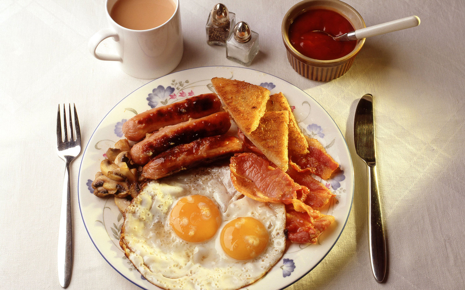 Full English Breakfast Hangover Cures