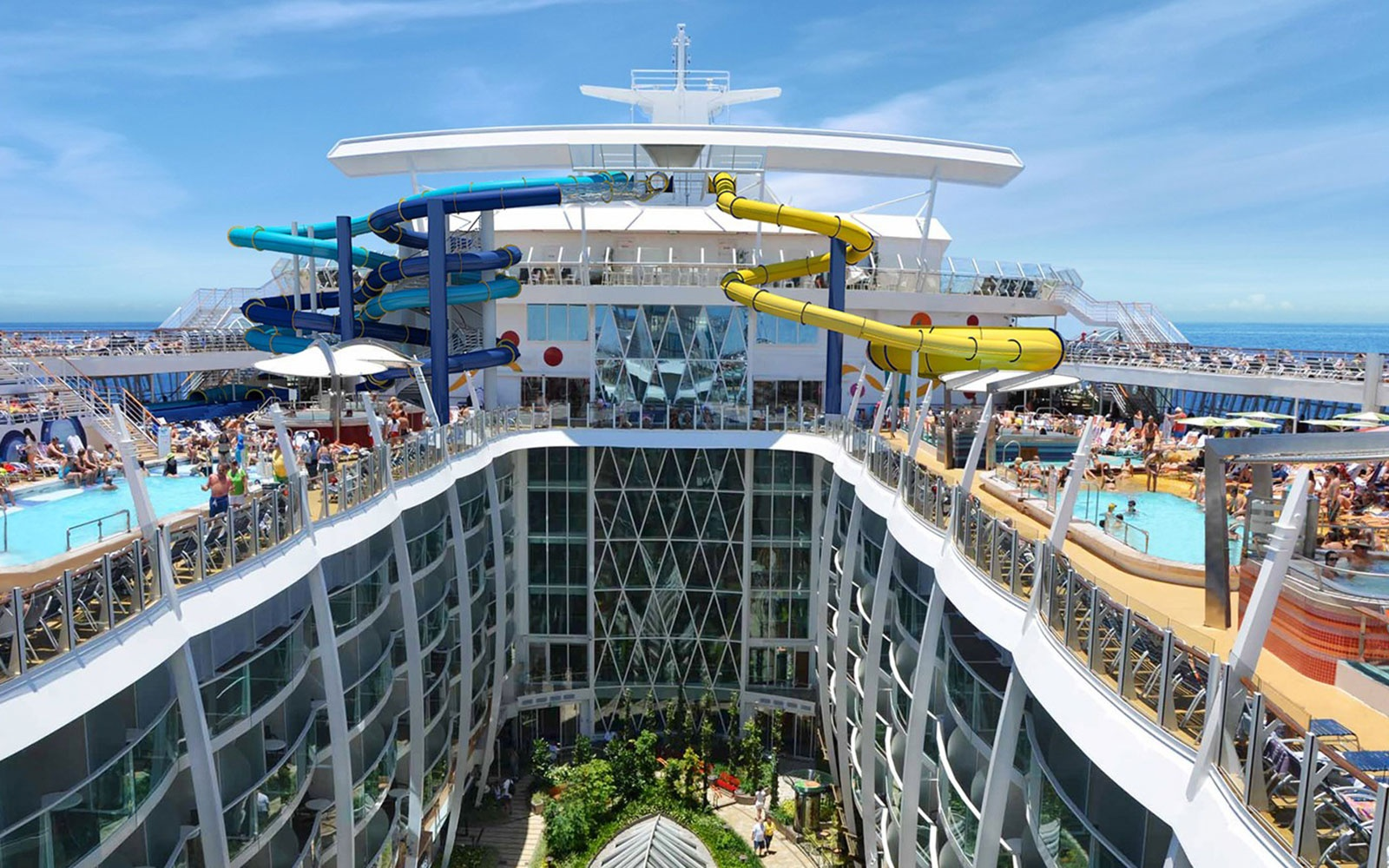 The World's Biggest Cruise Ship Enters Final Stage of Construction