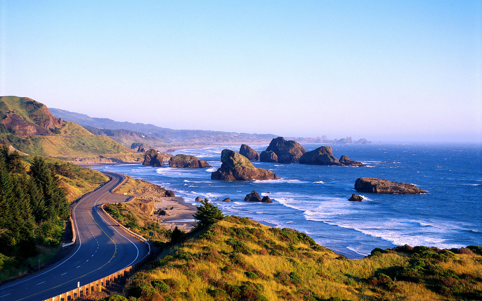 Highway 101 along the Oregon coast