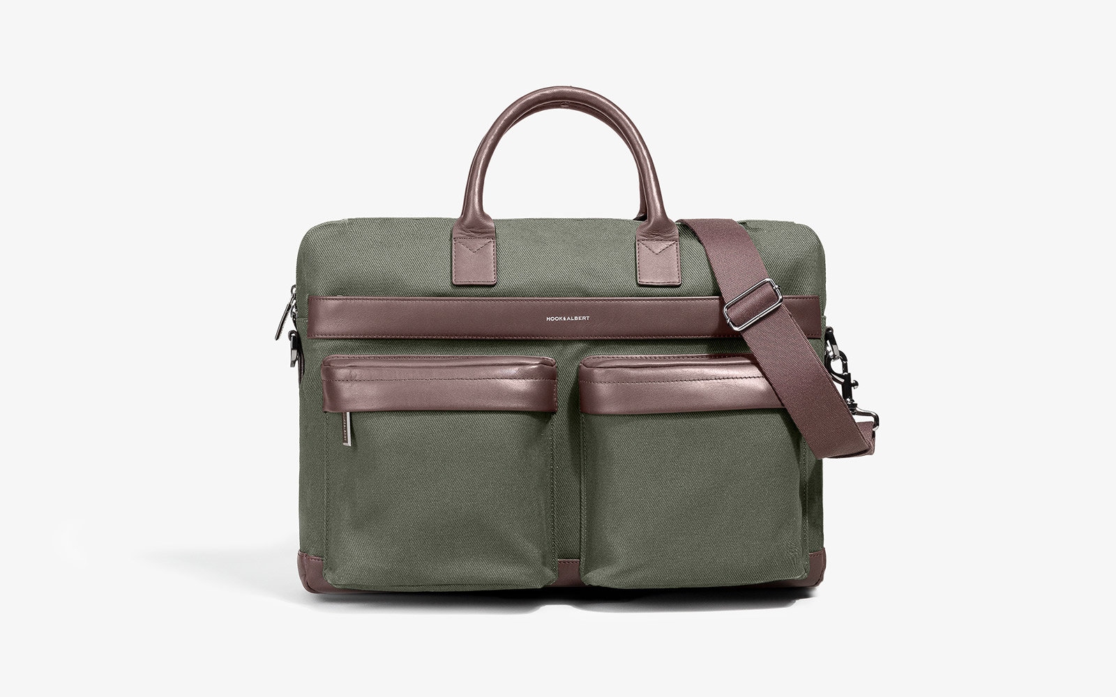 Hook Albert Casual Computer Briefcase