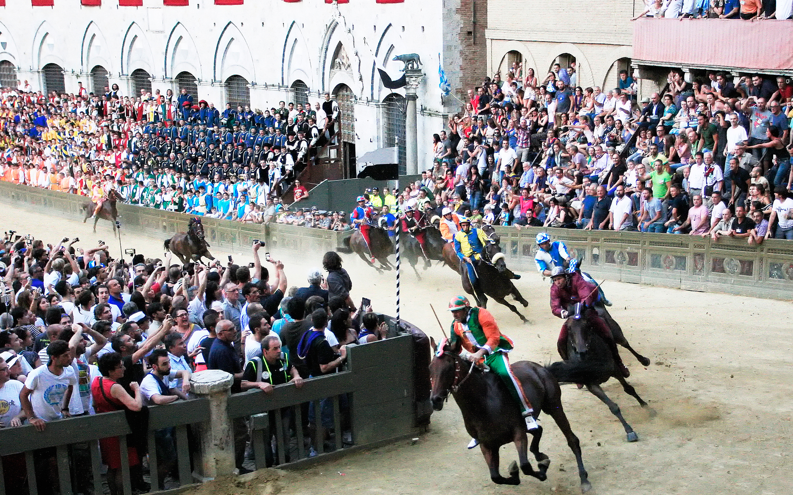 Palio Horse Race Returns To Siena Italy Travel Leisure