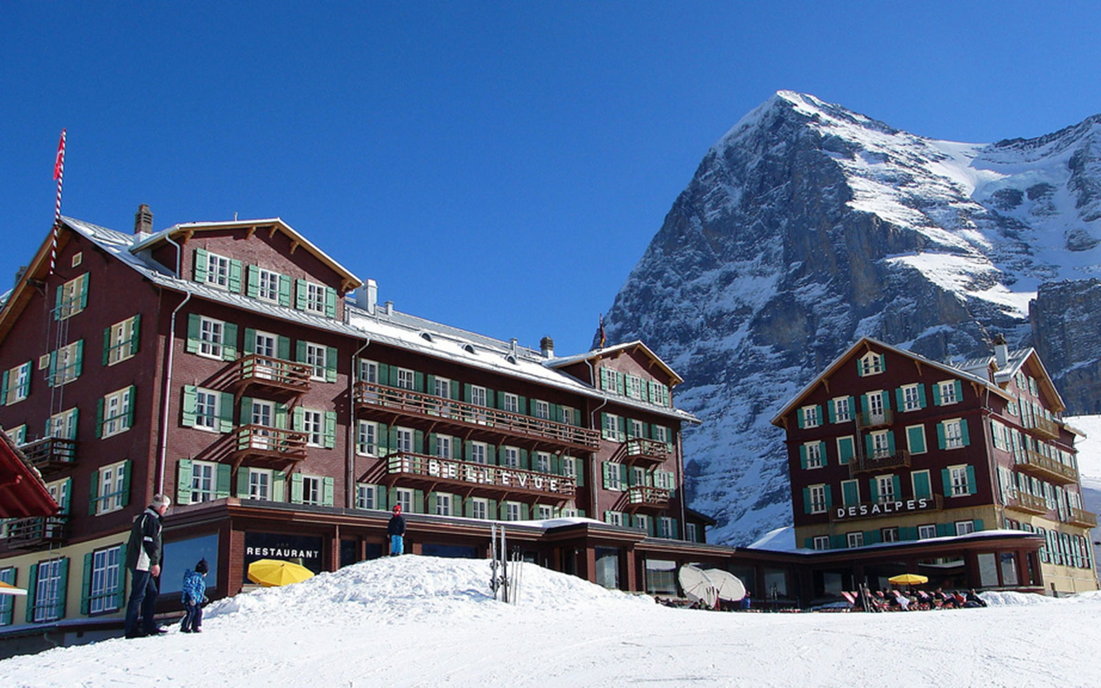 Hotel Bellevue des Alpes in Switzerland