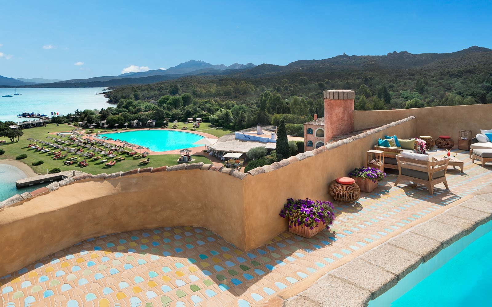 Penthouse Suite at Hotel Cala di Volpe, a Luxury Collection Hotel, Costa Smeralda, Sardinia, Italy
