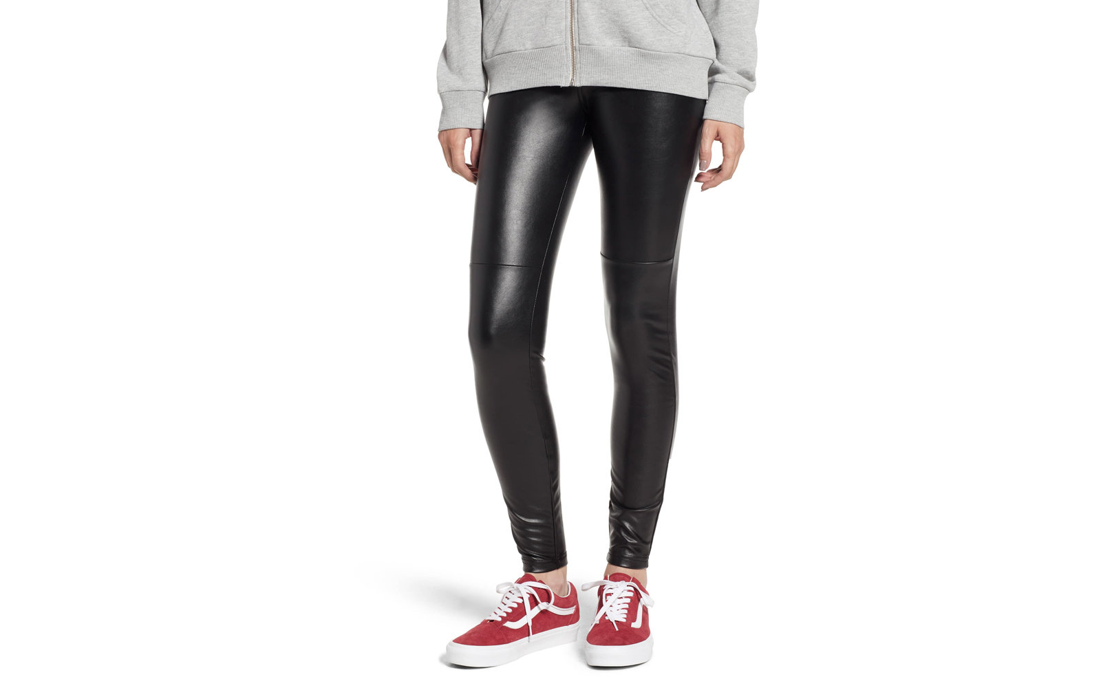 Halogen Faux Leather Leggings