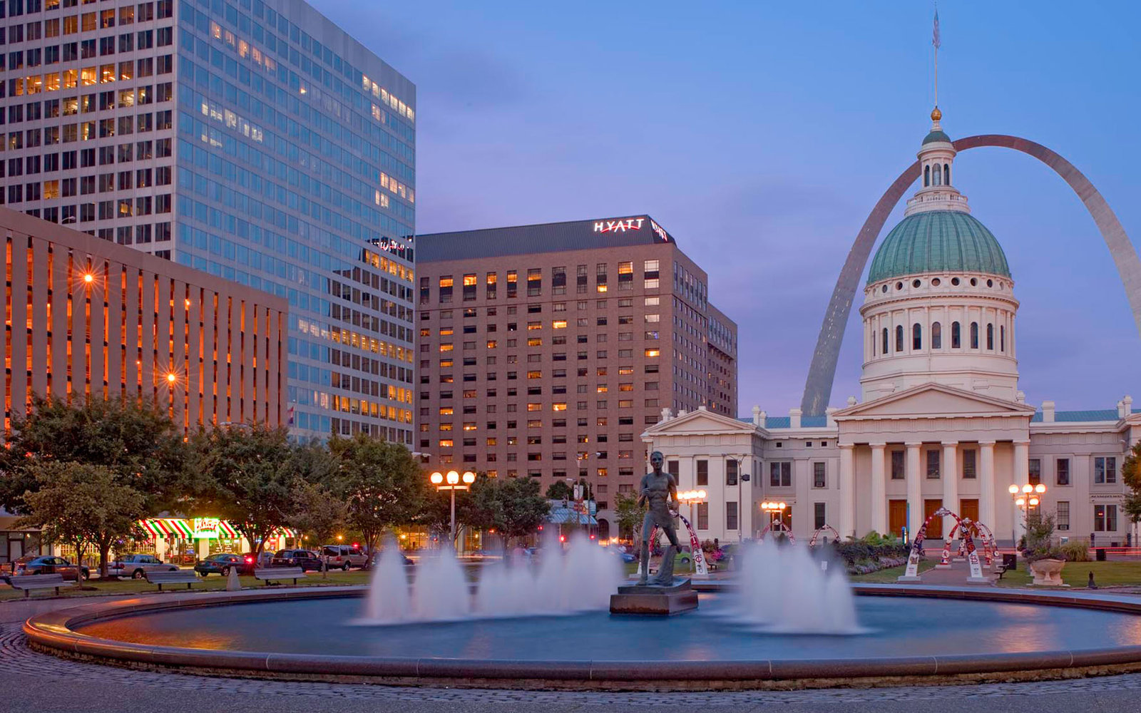 Missouri: Hyatt Regency St. Louis at The Arch (formerly the Hyatt Regency St. Louis Waterfront)