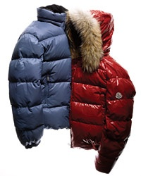 red moncler replica