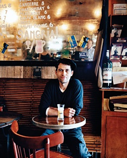 Franck Alexandre, the manager of Bar Tabac, in Cobble Hill.