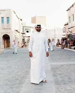 A Qatari local in the newly renovated Souq Waqif
