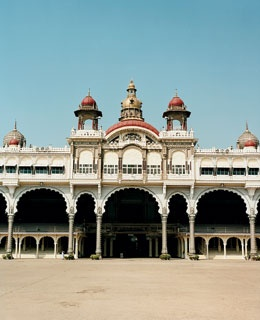 Mysore palace, in nearby Mysore.