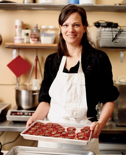 Sarah Hart, Alma Chocolate's owner.