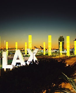 4. (tie) Los Angeles, California (LAX)