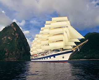 Star Clippers (Europe, Asia, Caribbean)